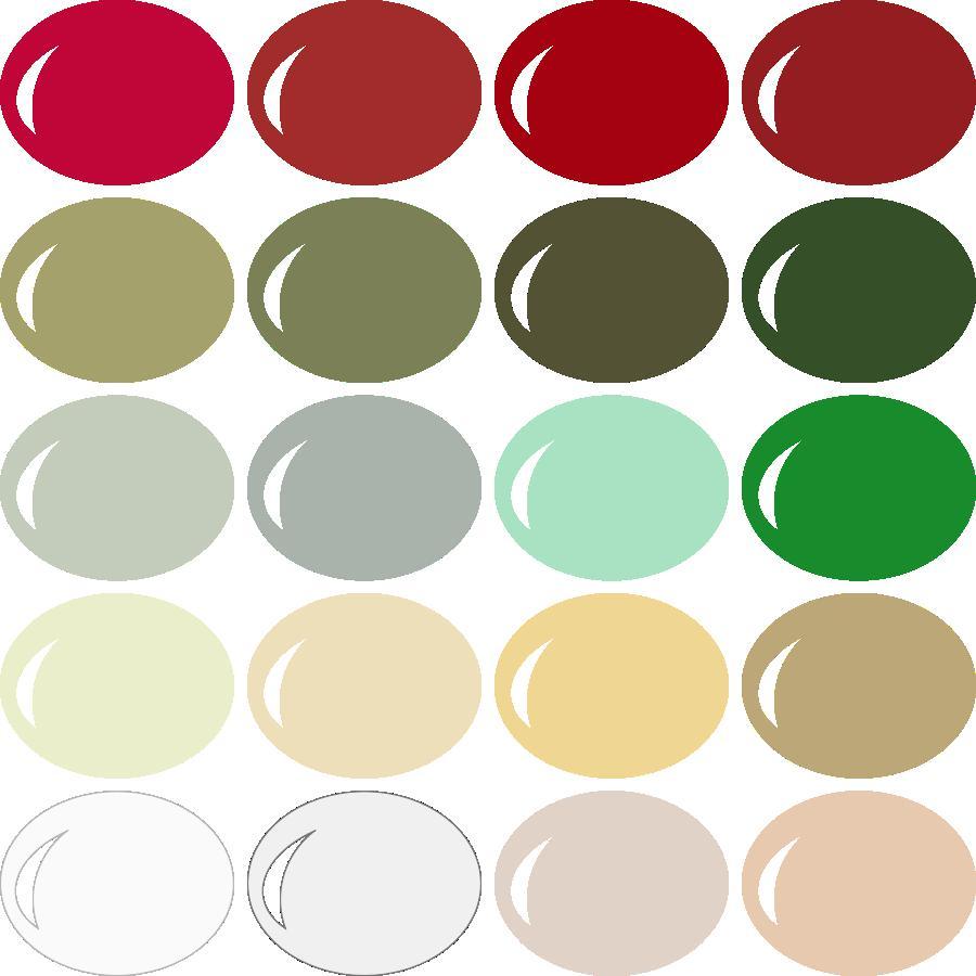 InVue Color Palette: Classic Christmas