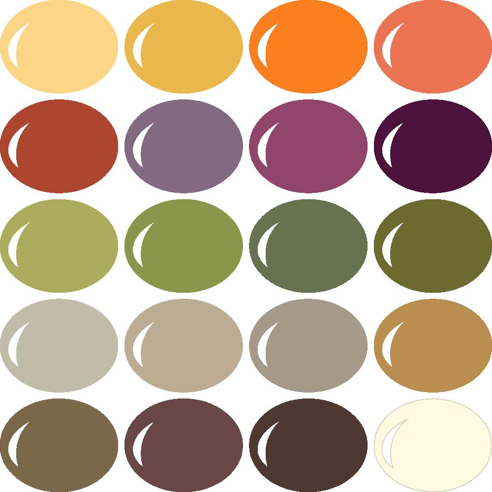 Classic Thanksgiving Color Palette