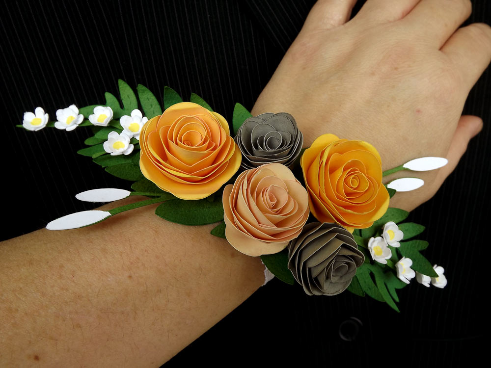 Spring Prom Paper Boutonniere And Corsage Pazzles Craft Room
