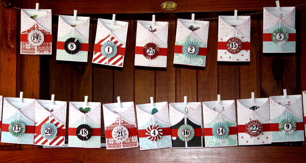 Advent Countdown Cards