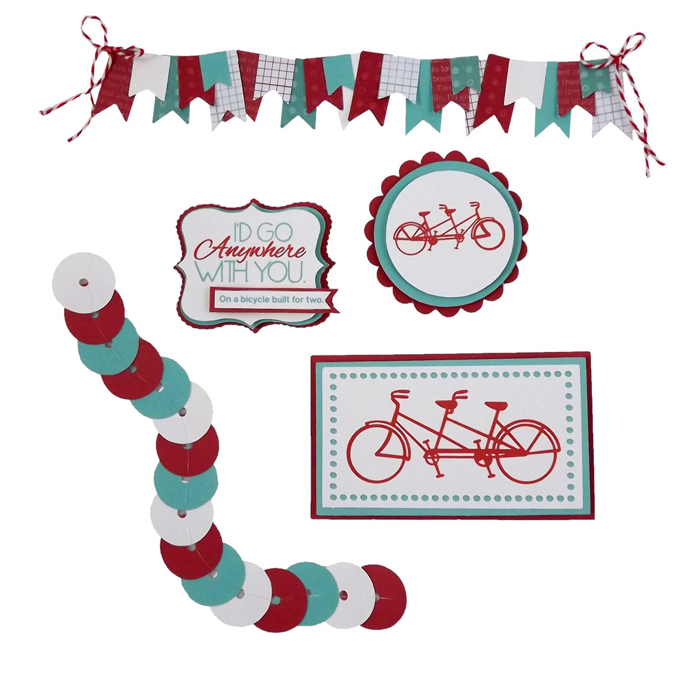 DIY Scrapbook Embellishments: Bicycles and Sequins ...