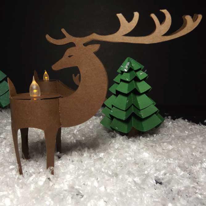 Deer-Tealight-Head-Turned-SQR