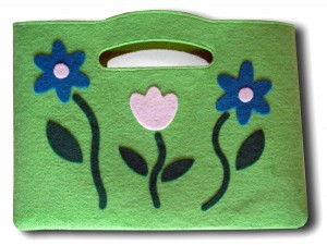 Die Cut Fabric Bag