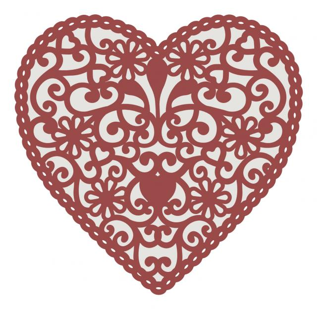 Doilie Heart