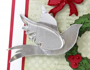 Dove Metal Embellishment