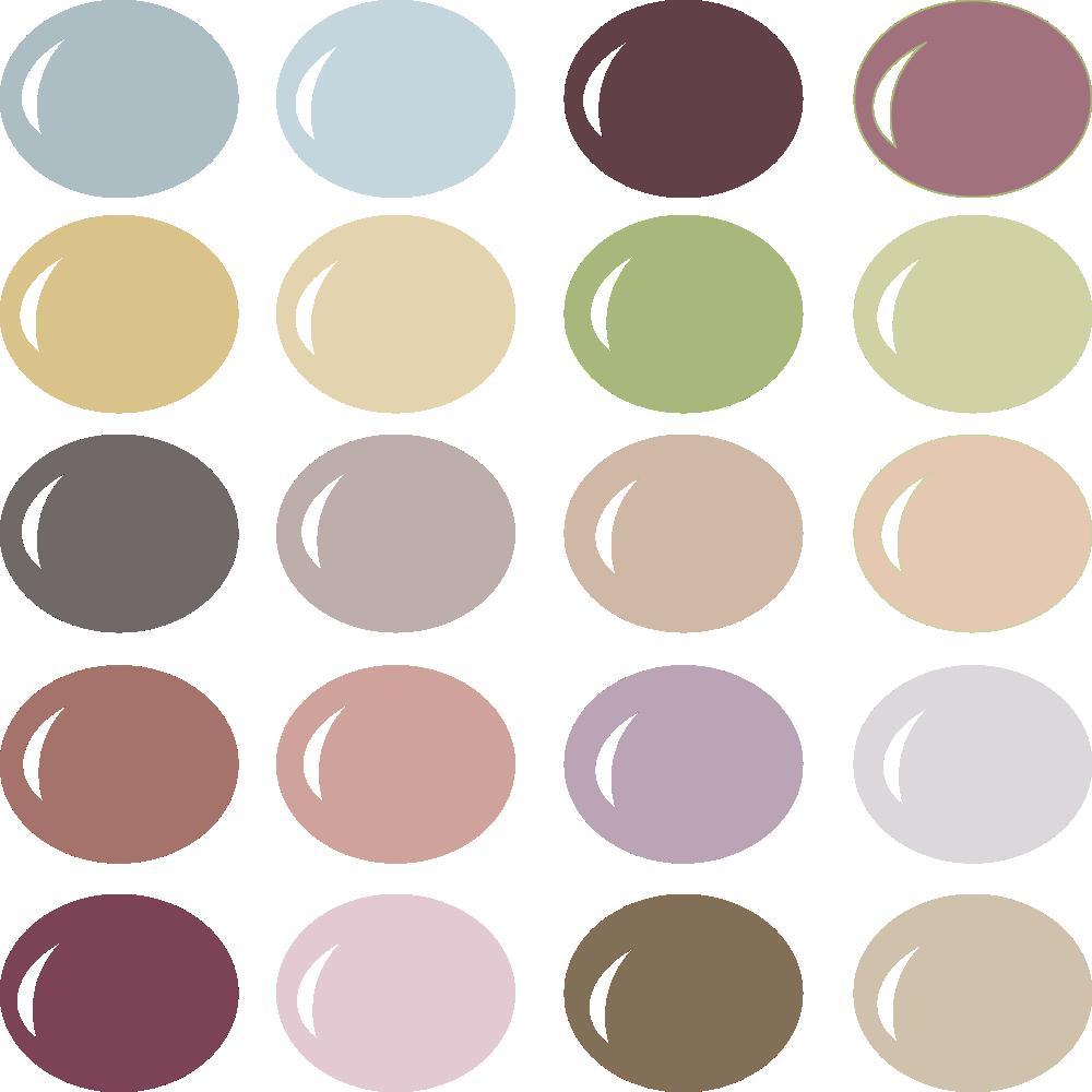InVue Color Palette: Dusty Rose