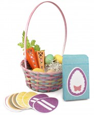 Easter Basket Carrot Candy Boxes and Game Box Spread