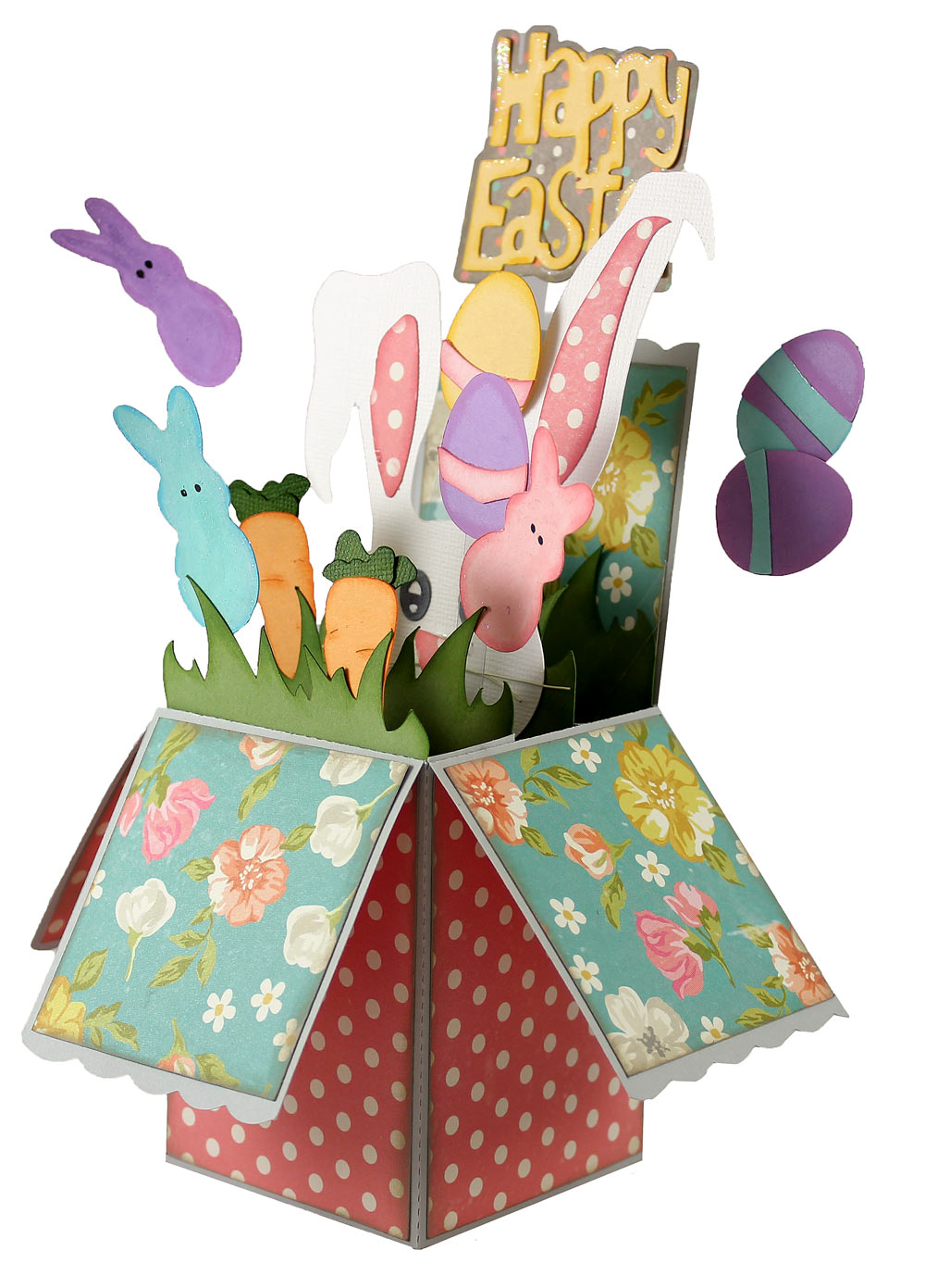 Easter Pop Up Box Card Pazzles Craft Room – Easter Pop Up Cards