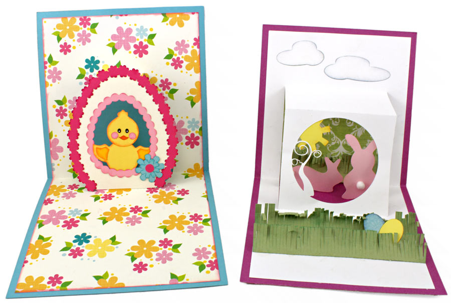 How To Make PopUp Cards Pazzles Craft Room – Easter Pop Up Cards