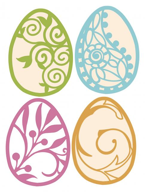 Elegant Easter Eggs