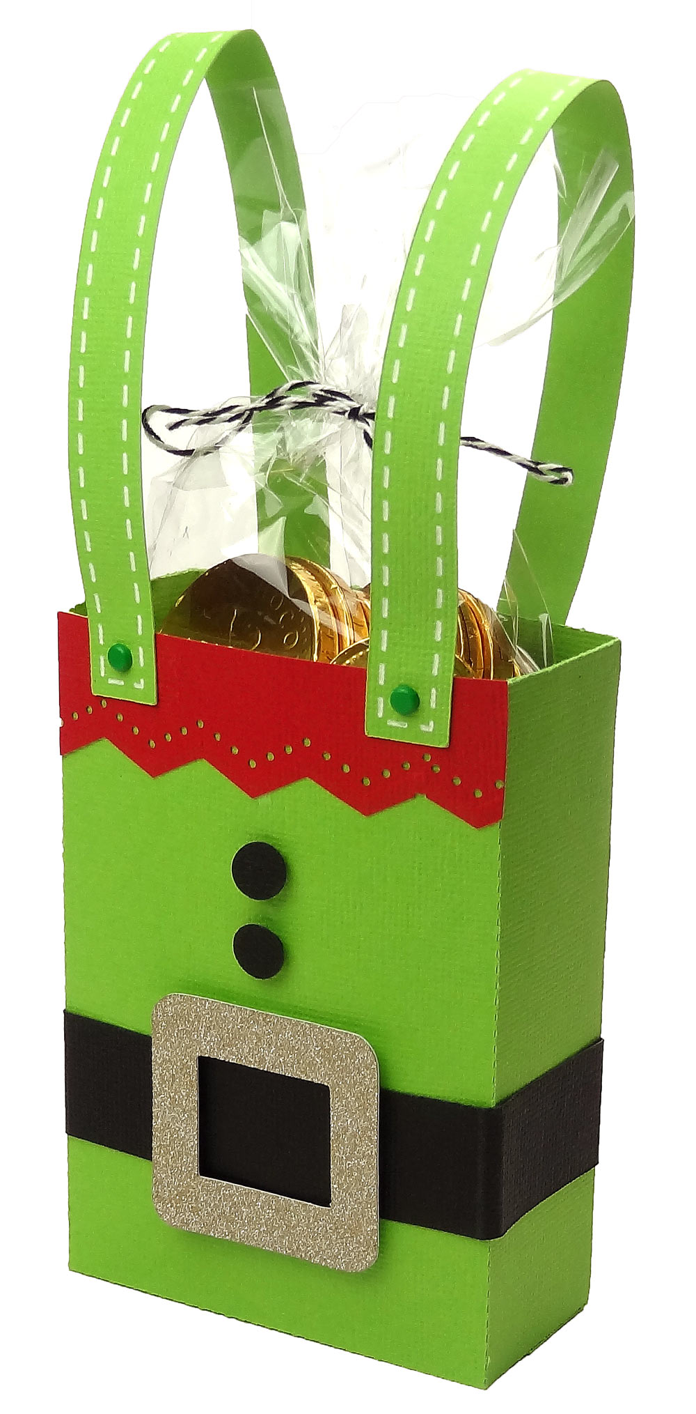 Christmas treat bags pazzles craft room