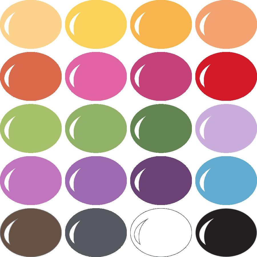 InVue Color Palette: Fun Stampers Journey 1
