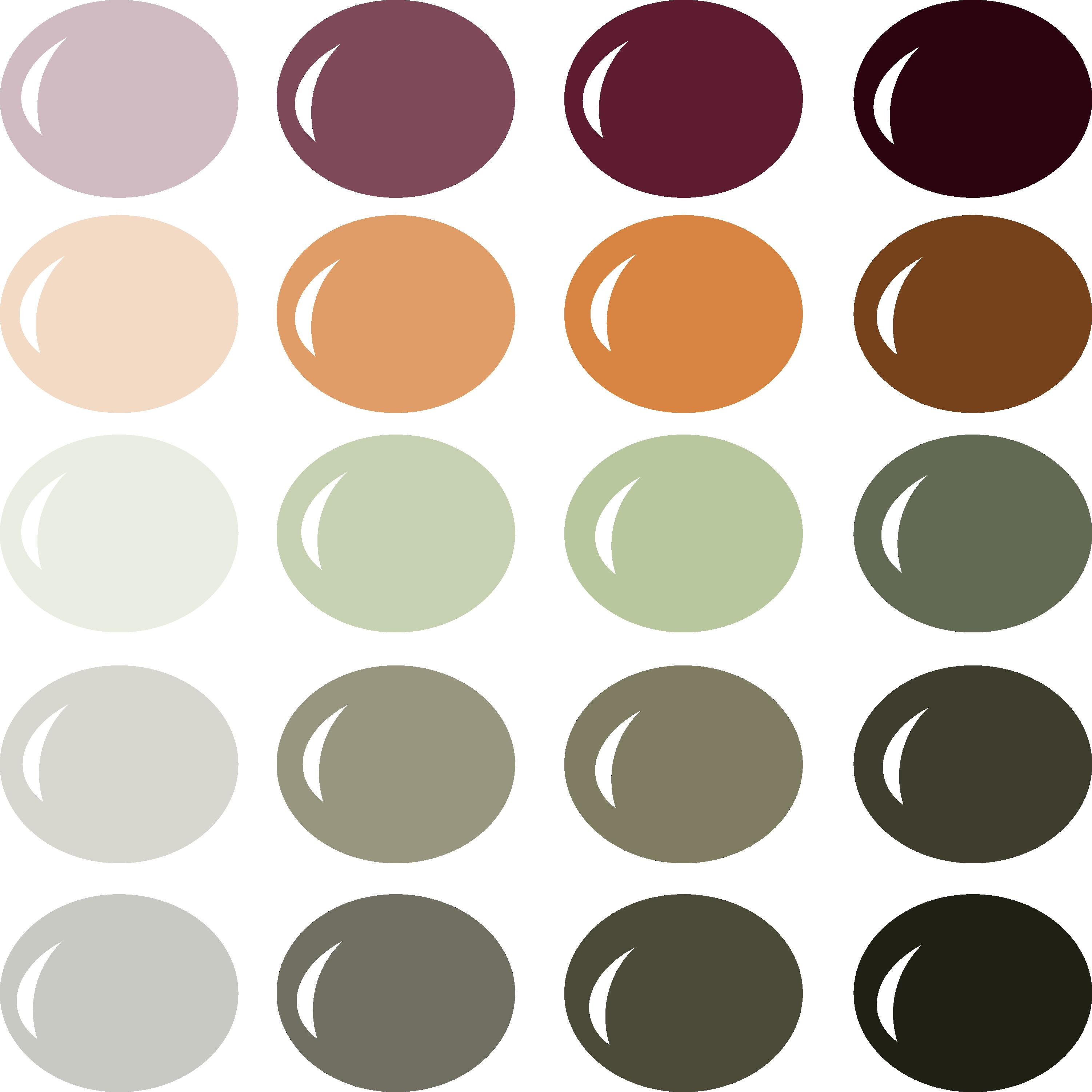 InVue Color Palette: Fabulous Fall