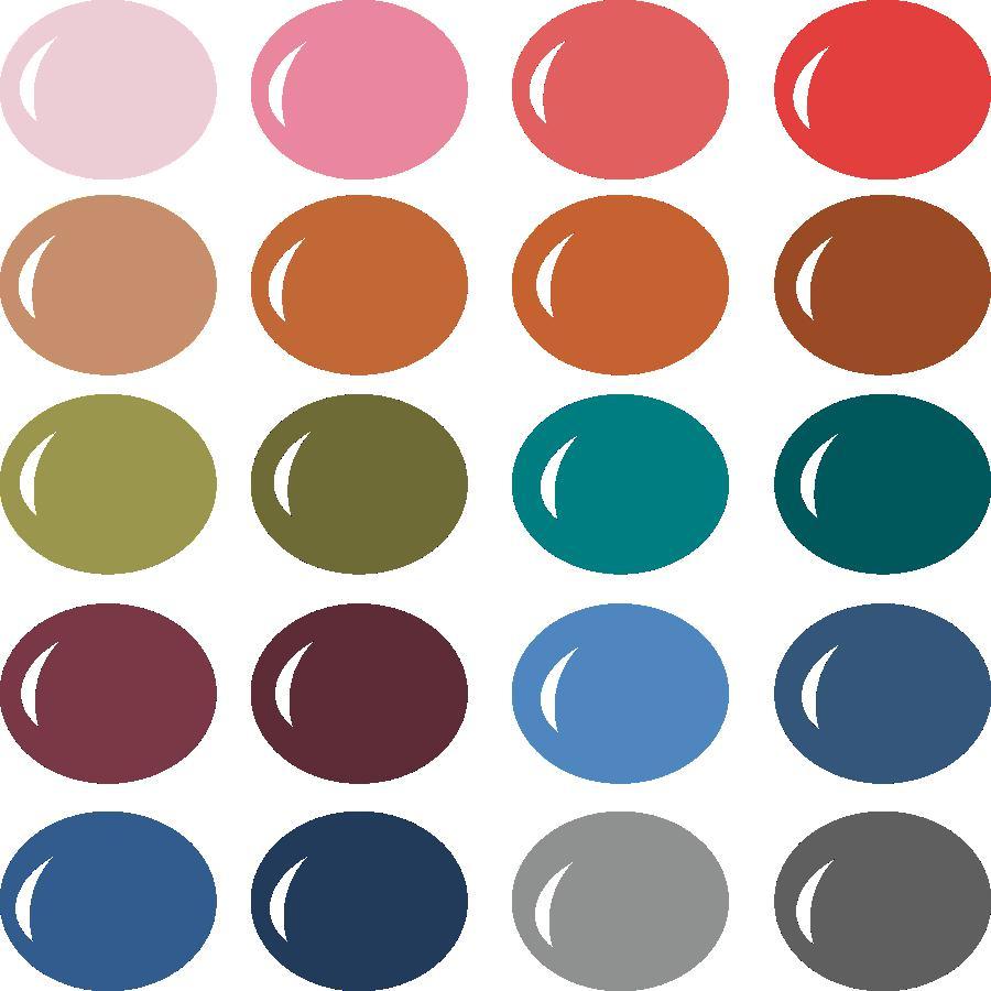 InVue Color Palette: Fall 2017
