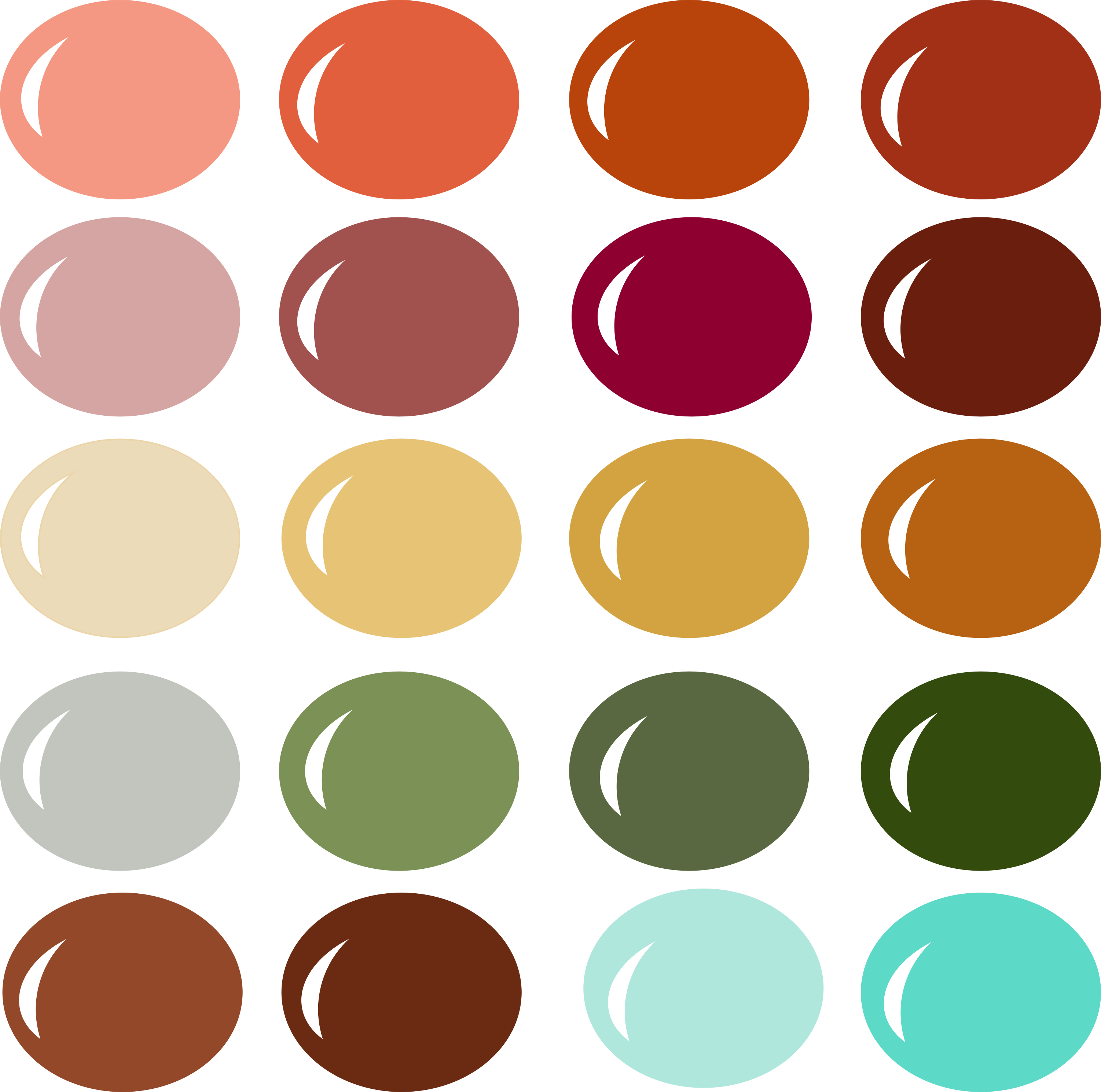 InVue Color Palette: Falling Leaves