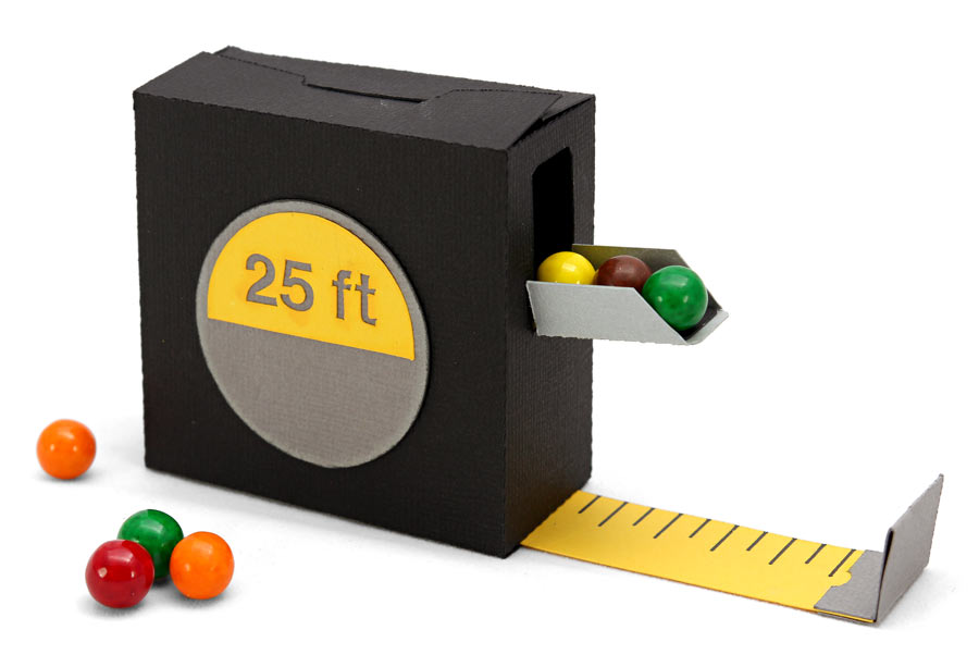 Father 39 S Day Tool Belt Part 3 Measuring Tape Candy Box