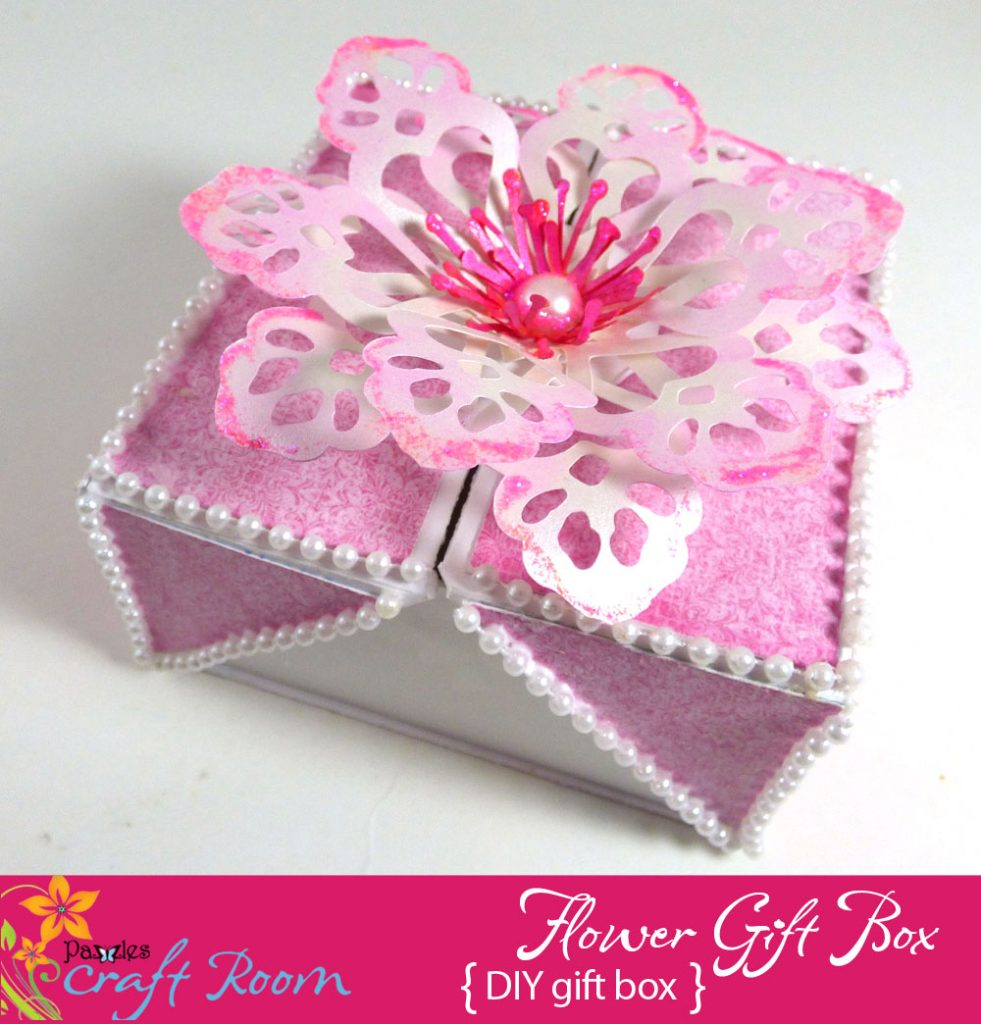 Flower Gift Box Pazzles Craft Room