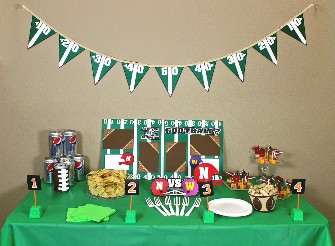 Football Party Pazzles Craft Room