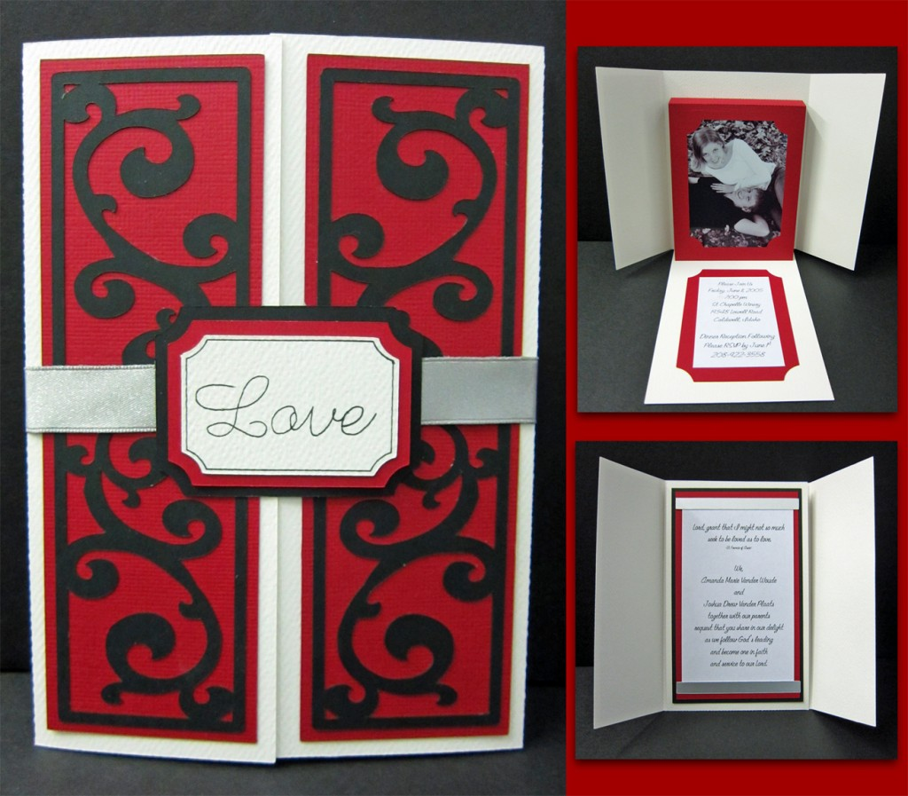 Scroll Photo Frame Card - Pazzles Craft Room