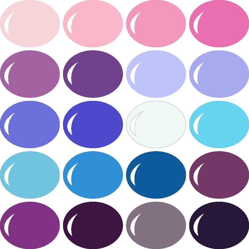 InVue Color Palette: Frozen Winter