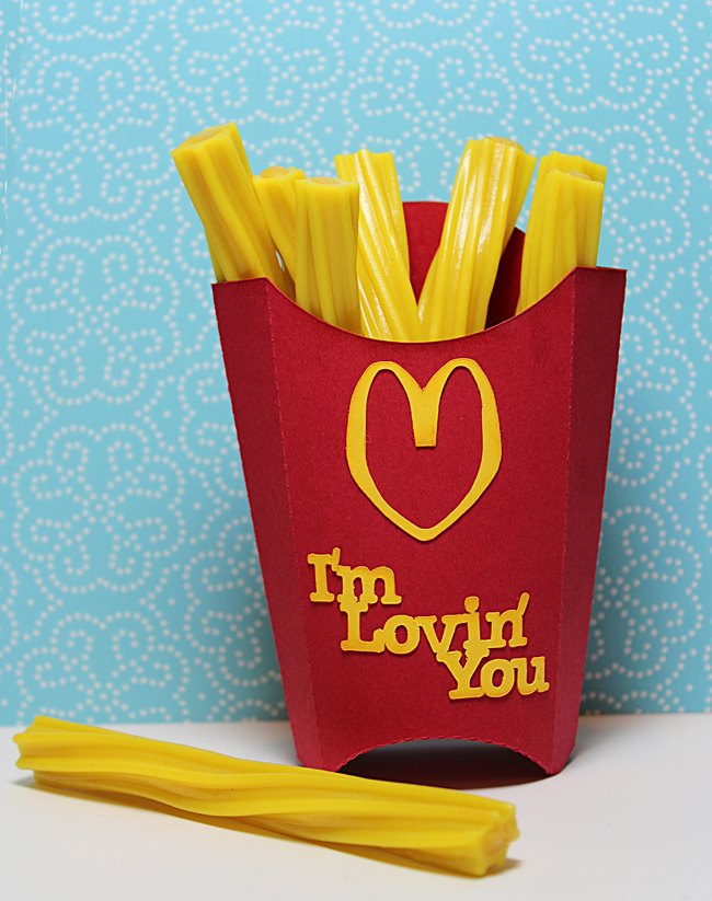 i fell in love with the mini sized fry boxes that now come in kids meals the little size is so cute i saved a few from my grandkids lunch one day - Cute Valentines Day Boxes