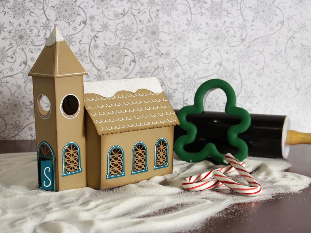 Gingerbread Village Church