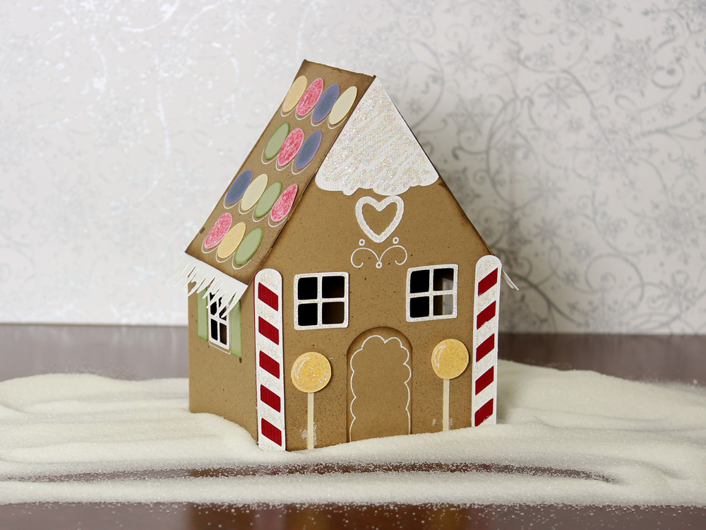 Gingerbread Village Paper House