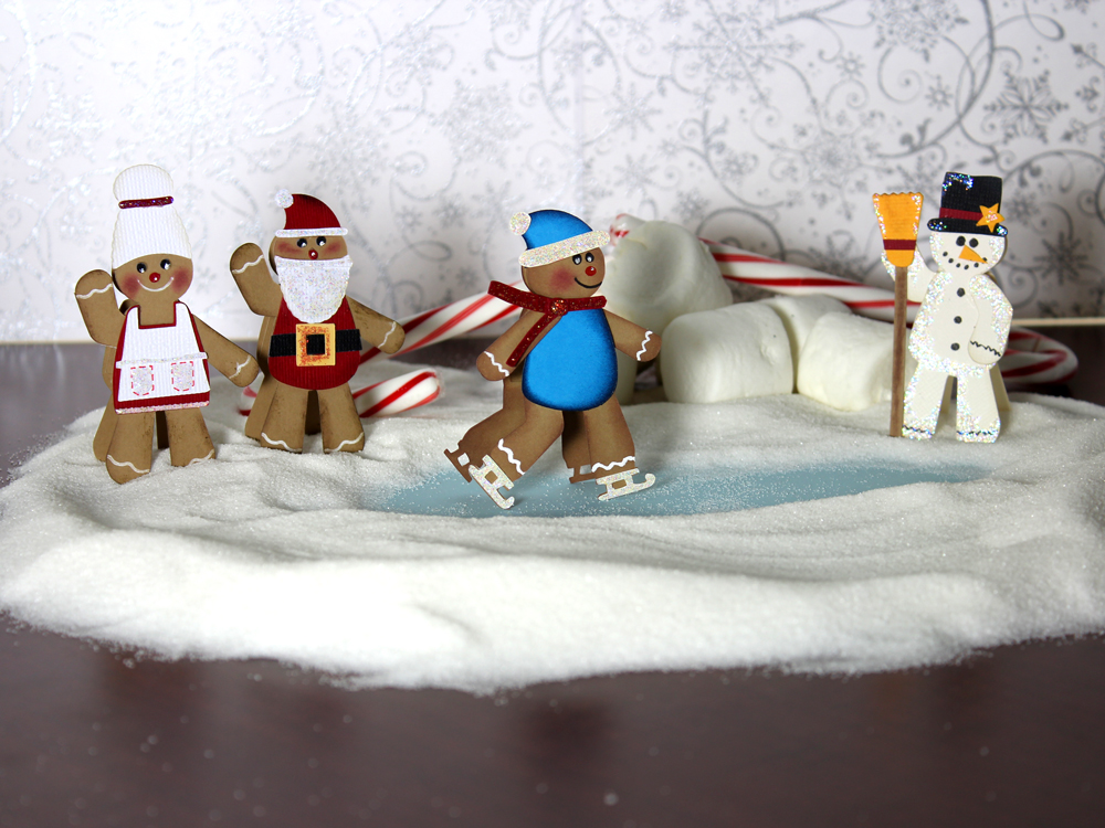 Gingerbread Village Townspeople