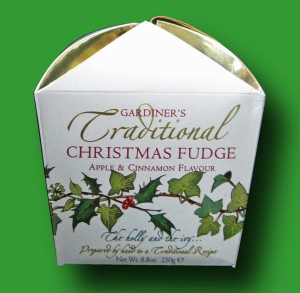 Gardiners Christmas Fudge Box