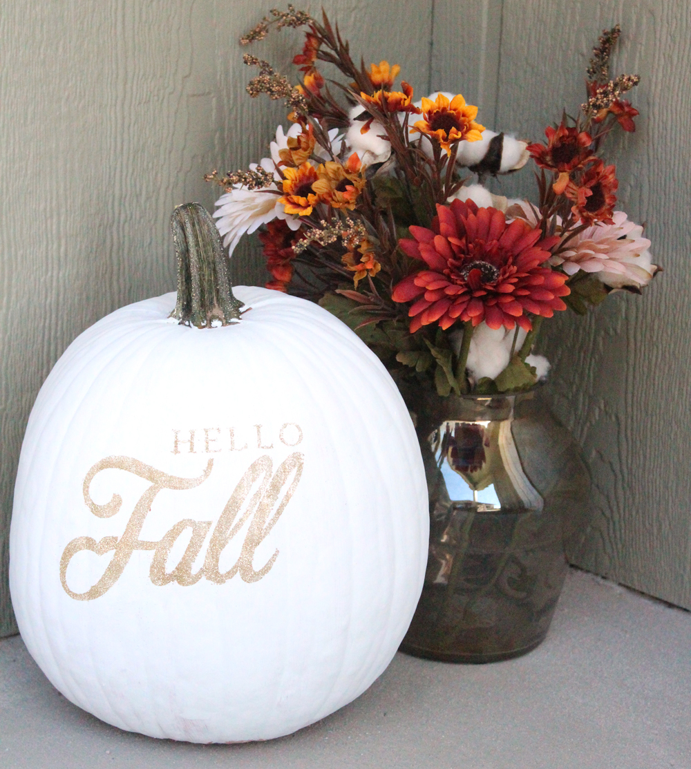 Glitter Fall Pumpkin