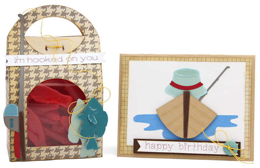 Gone Fishing Gift Bag and Card Set