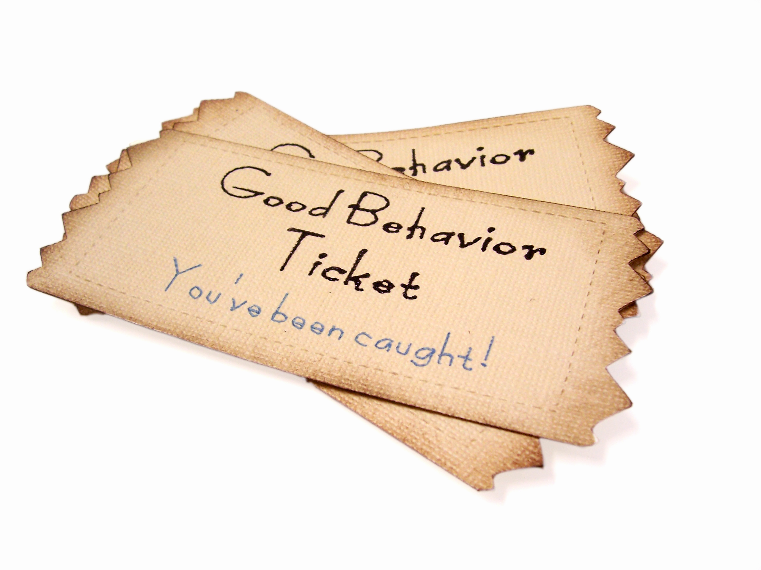 Good Behavior Tickets