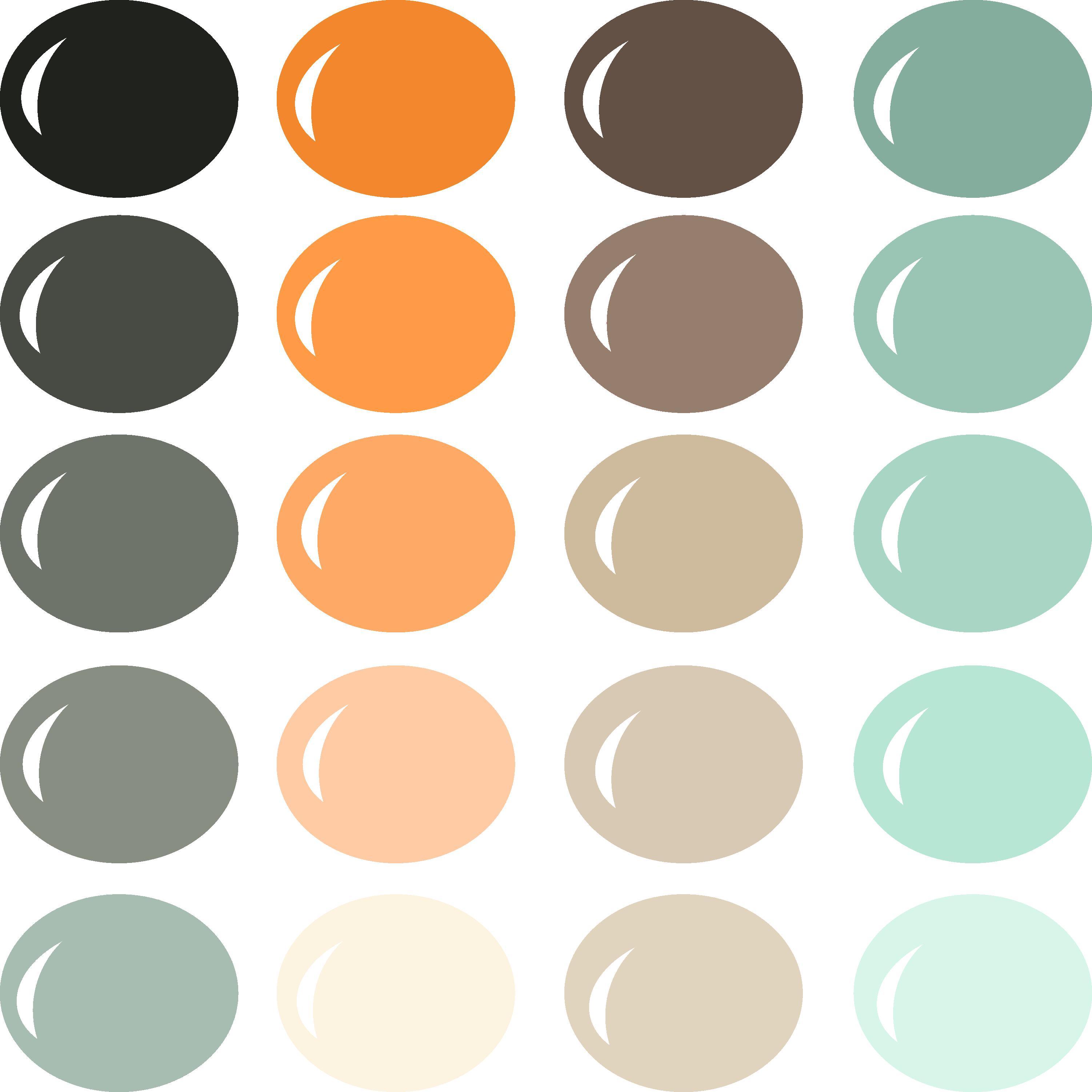 InVue Color Palette: Gothic Mansion