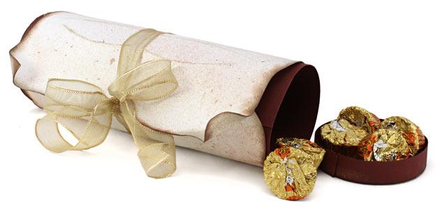 Graduation Gift Box Diploma Scroll