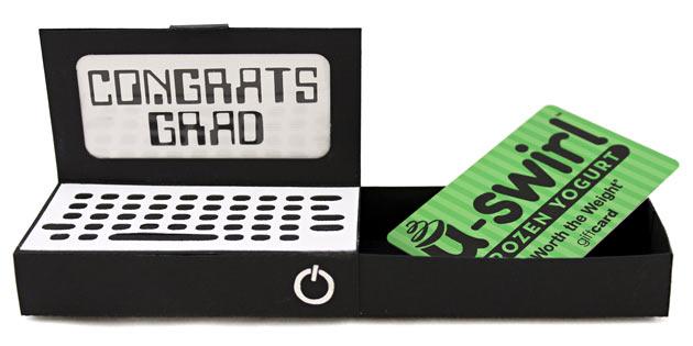 Graduation Gift Card Computer Box