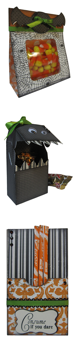 Halloween Treat Containers: Bag, Box, Sleeve