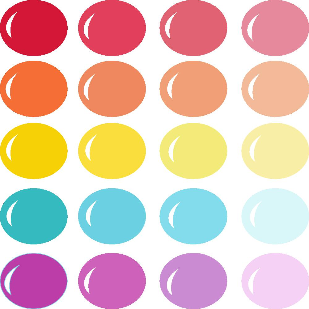 InVue Color Palette: Happiness