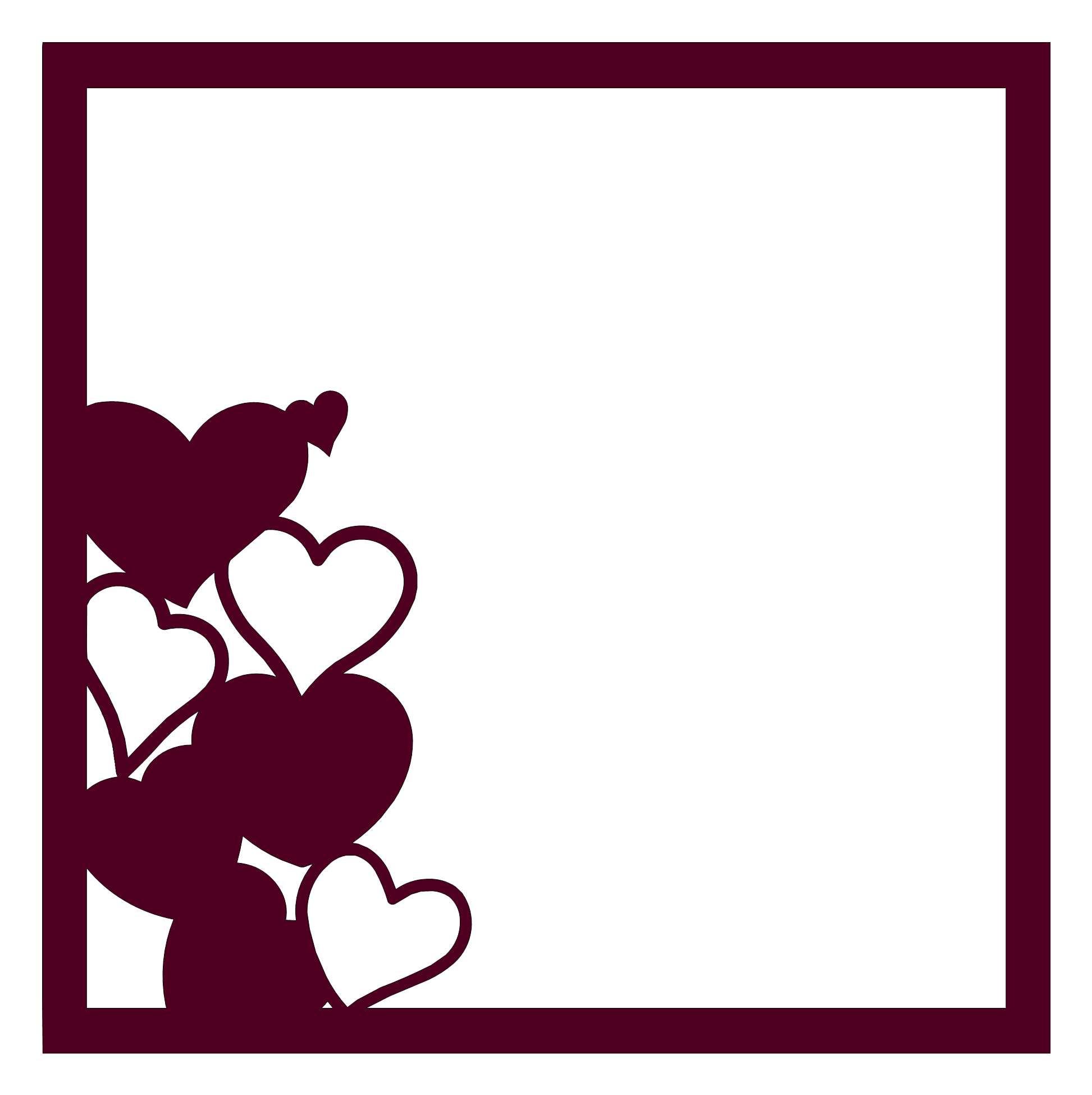Valentines Day Page Border - Viewing Gallery