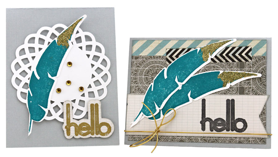 Hello Feather Make Your Own Stamp Kit Cards. Say  Hello  to Making Your Own Rubber Stamps   Pazzles Craft Room
