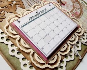 Home Calendar Closeup