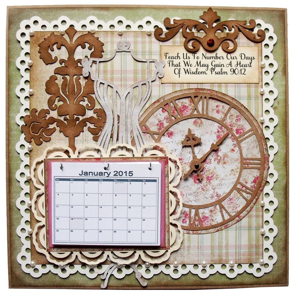 DIY Home Calendar Planner