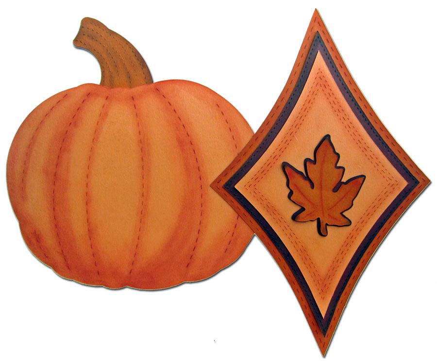 Kiss Cut Line Length Example Pumpkin and Star