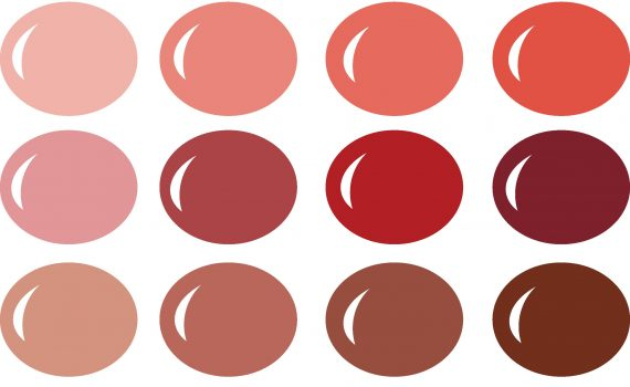 Valentine's Day Kiss Me Color Palette for Pazzles InVue software