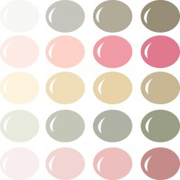 Love in the Spring Color Palette for Pazzles InVue software