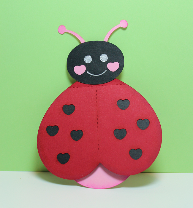 Be My Love Bug Card