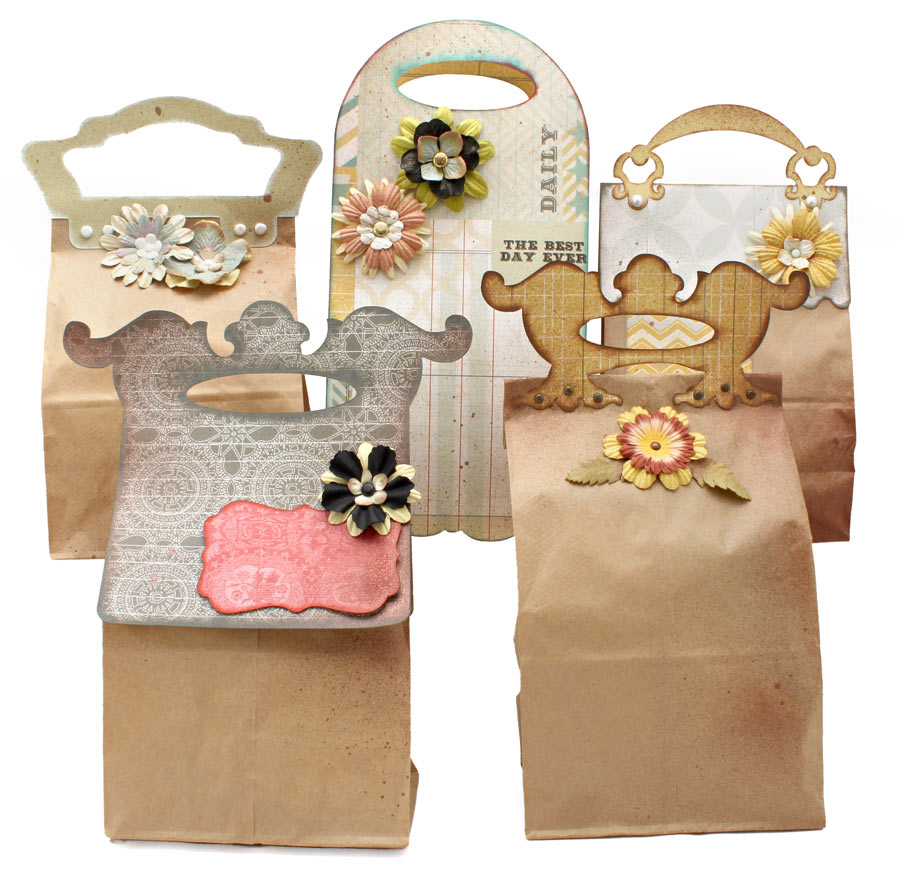 Lunch Sack Gift Bags Cutting Collection