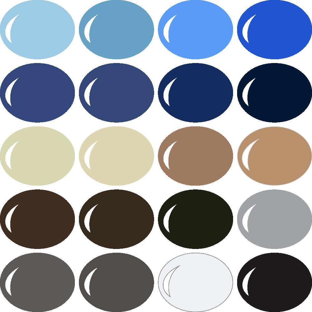 Pazzles InVue Color Palette