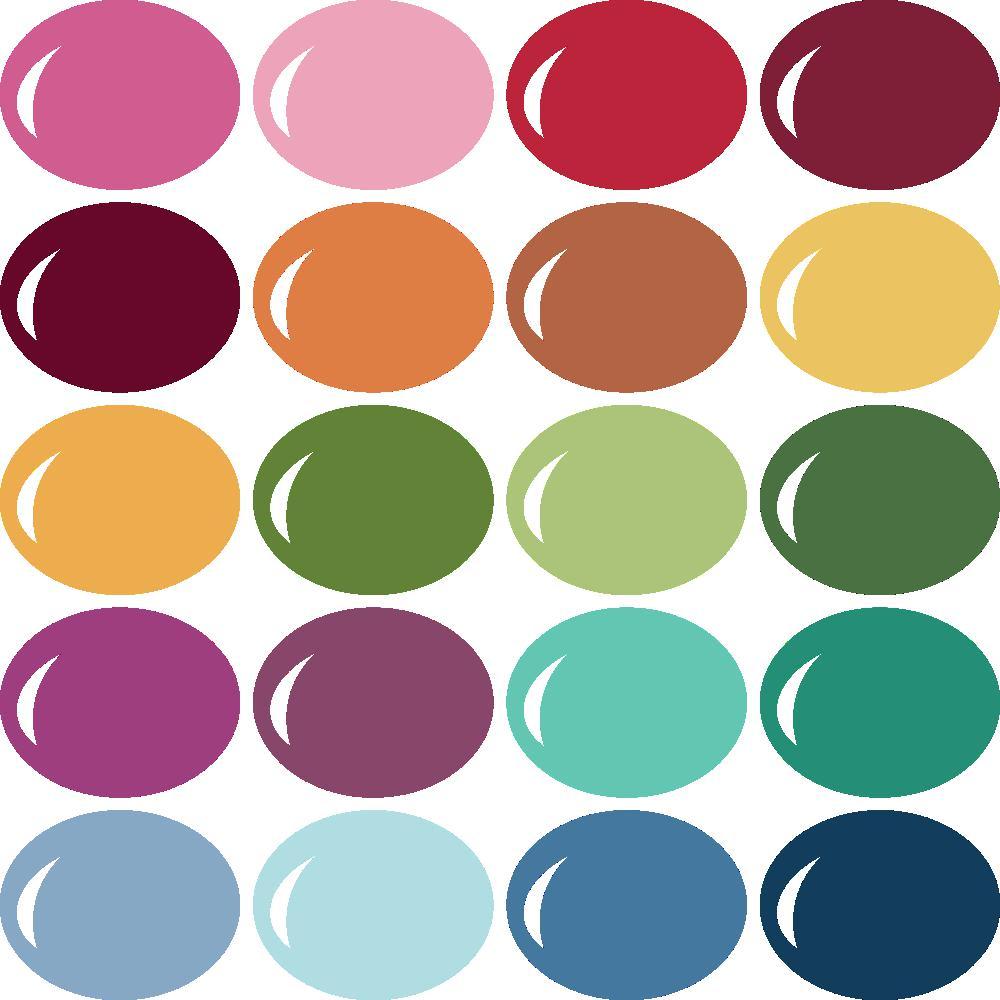 InVue Color Palette: MME My Colors 6