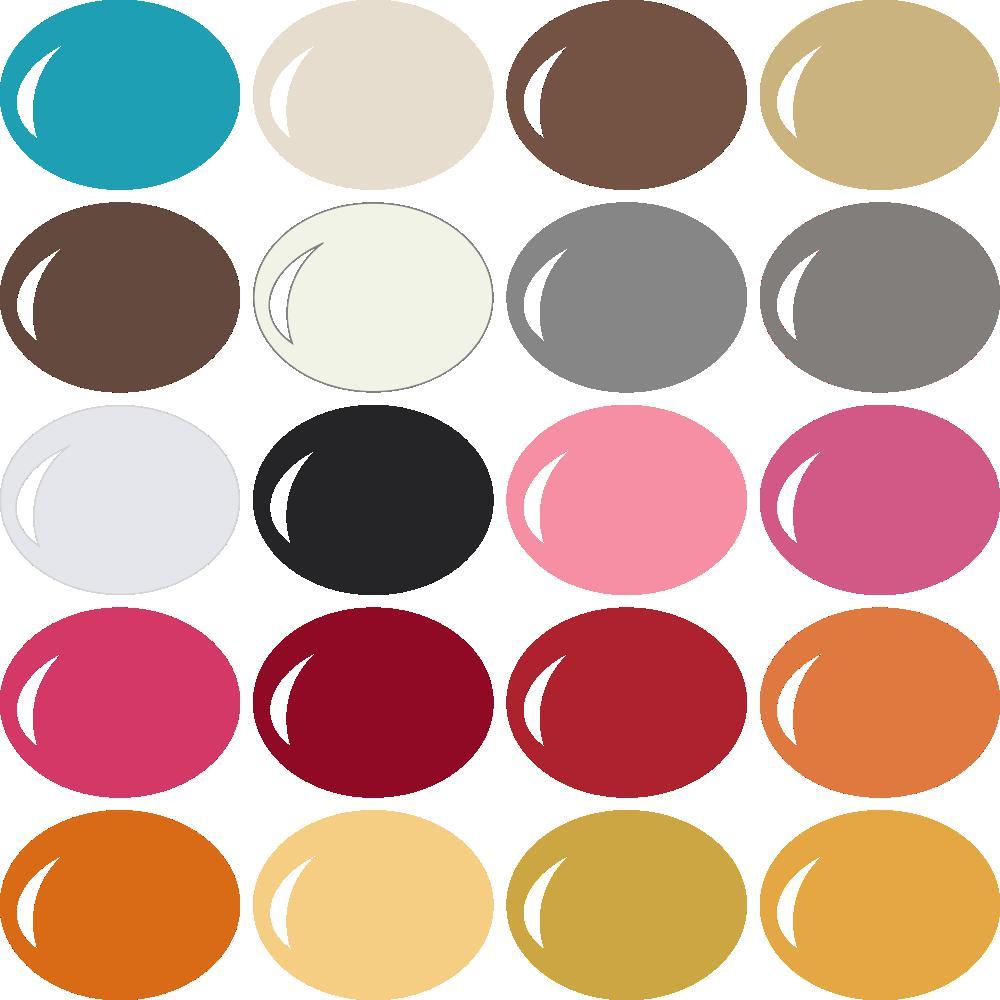 InVue Color Palette: MME My Colors 7