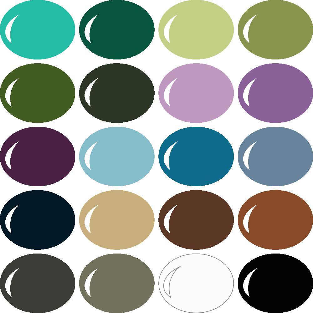 InVue Color Palette: MME My Colors 8